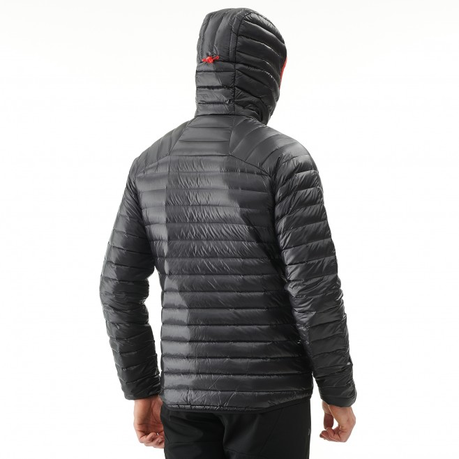 Men's down jacket - mountaineering - red K SYNTH'X DOWN HOODIE Millet 6