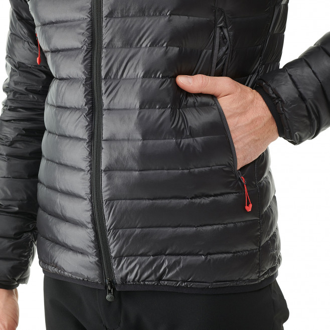 Men's downjacket - black K SYNTH'X DOWN HOODIE Millet 4