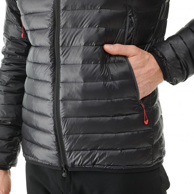 Men's down jacket - mountaineering - red K SYNTH'X DOWN HOODIE Millet 2