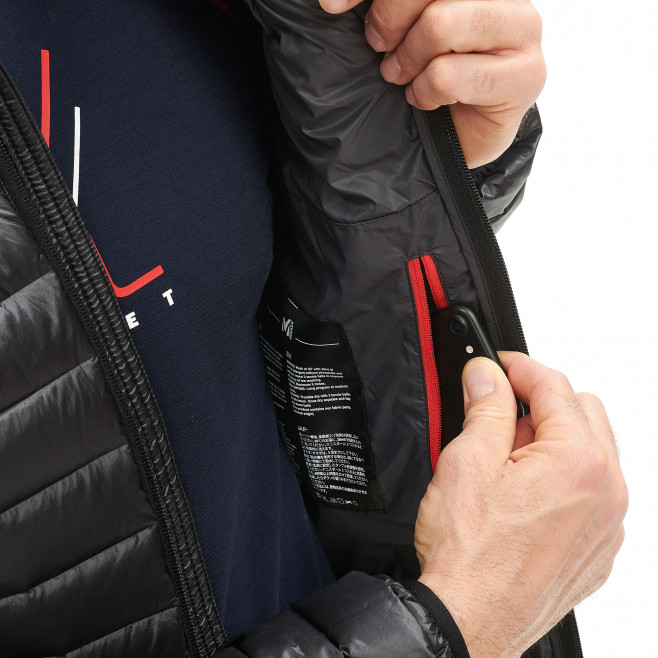 Men's downjacket - black K SYNTH'X DOWN HOODIE Millet 5
