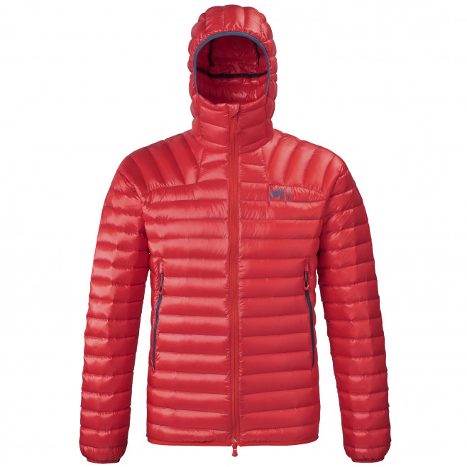 Men's downjacket - red K SYNTH'X DOWN HOODIE M Millet