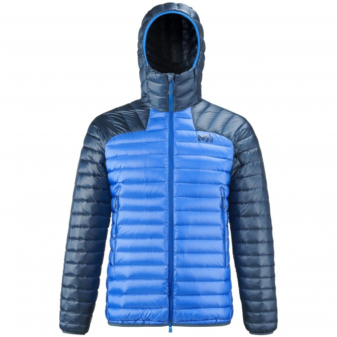 Men's downjacket - blue K SYNTH'X DOWN HOODIE M Millet