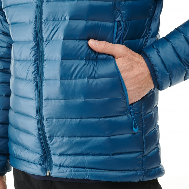 Men's down jacket - approach - blue K SYNTH'X DOWN JKT Millet 4