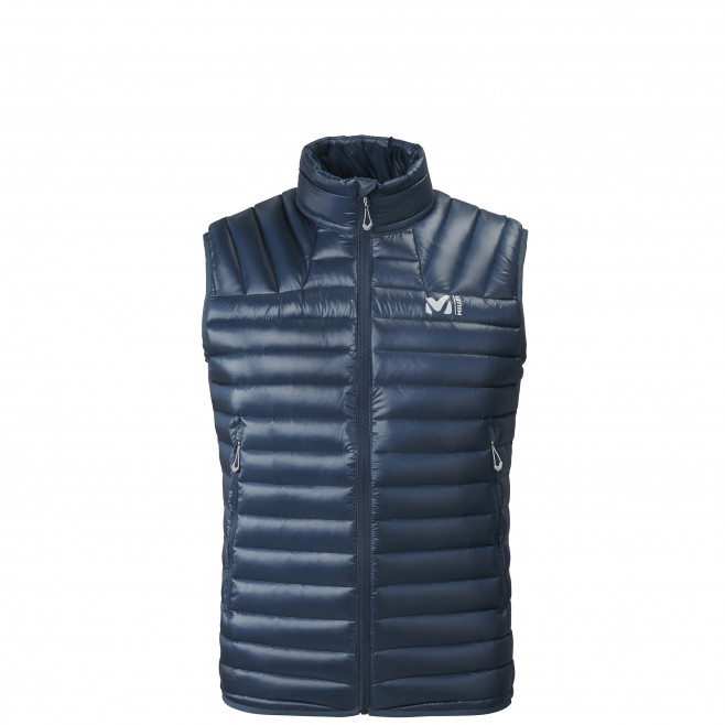 Men's downjacket - navy-blue K SYNTH'X DOWN VEST M Millet