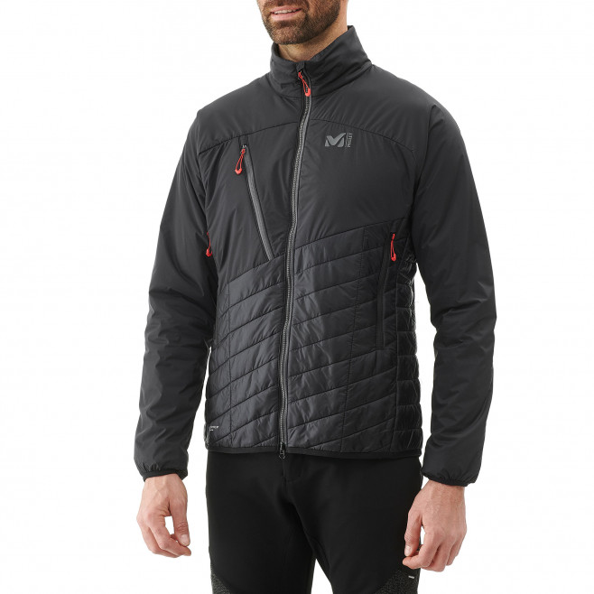 Men's very warm jacket - black ELEVATION AIRLOFT JKT Millet 6