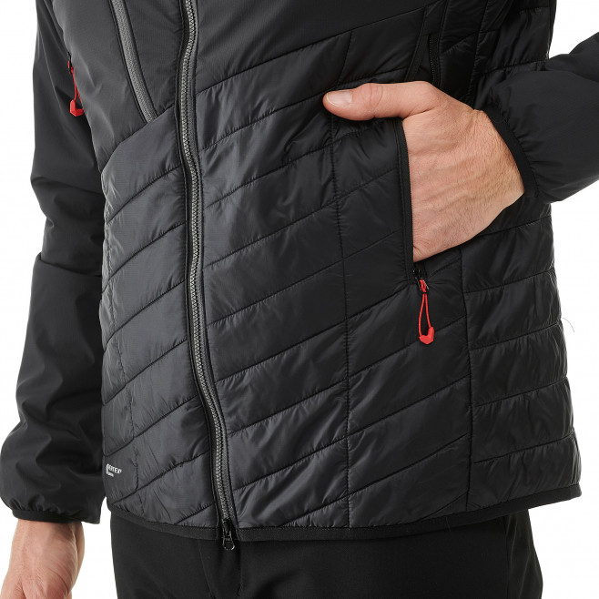 Men's very warm jacket - black ELEVATION AIRLOFT JKT Millet 4
