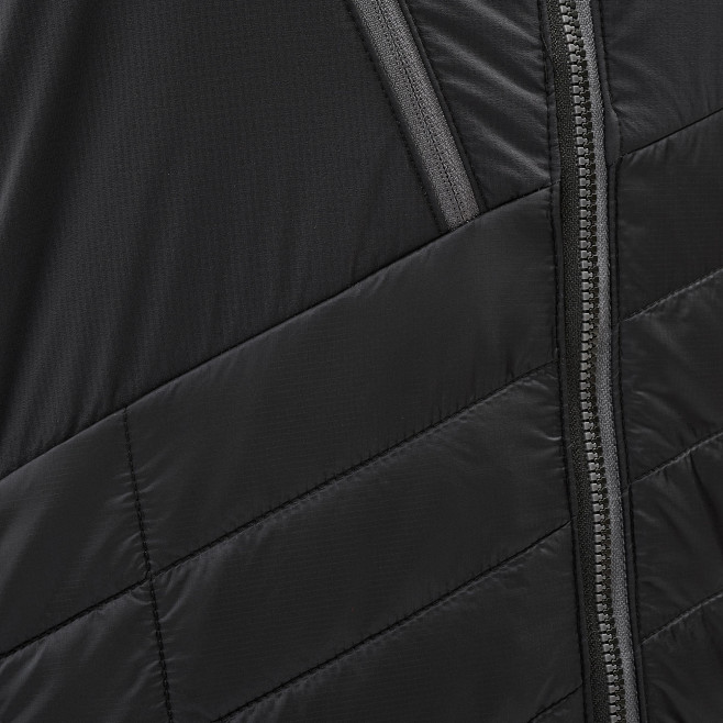 Men's very warm jacket - black ELEVATION AIRLOFT JKT Millet 5