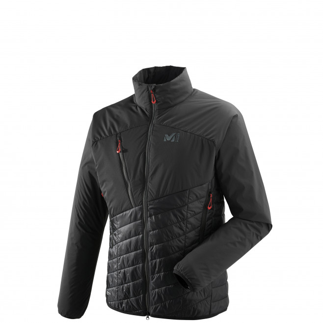 Men's very warm jacket - black ELEVATION AIRLOFT JKT Millet