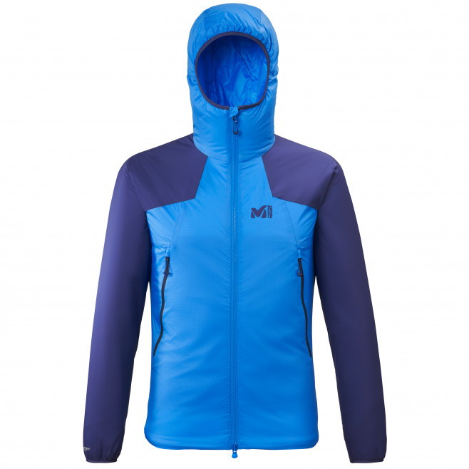 Men's very warm jacket - blue K BELAY HOODIE M Millet