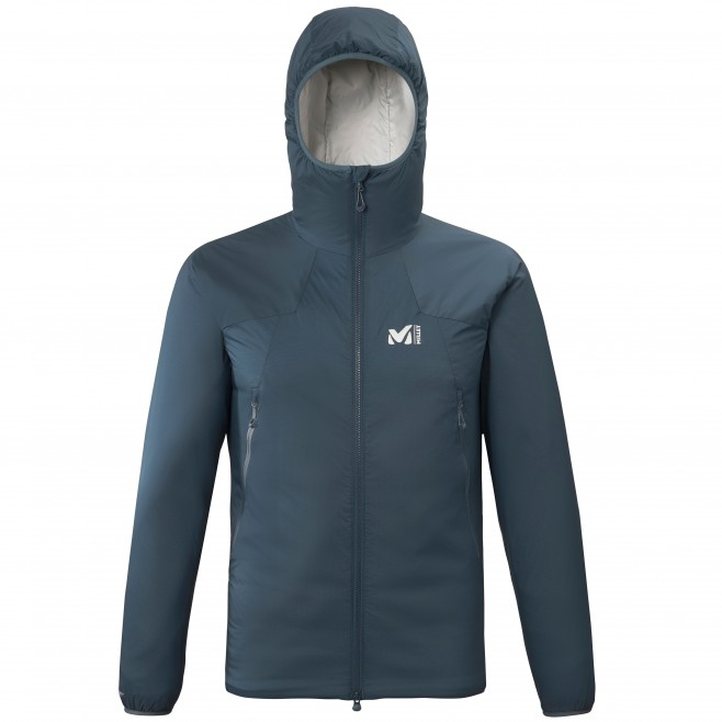 Men's downjacket - navy-blue K BELAY HOODIE M Millet