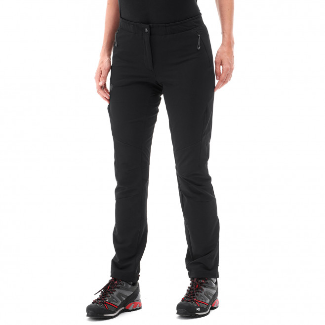 Women's wind resistant pant - black LD SUMMIT 200 XCS PANT Millet 2