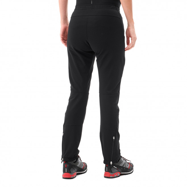 Women's wind resistant pant - black LD SUMMIT 200 XCS PANT Millet 3