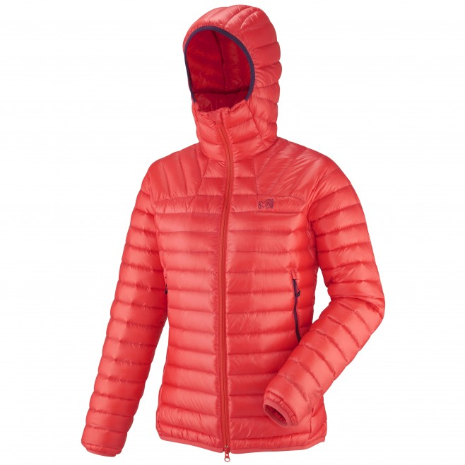 Women's down jacket - mountaineering - red LD K SYNTH'X DOWN HOODIE Millet