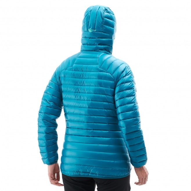 Women's down jacket - mountaineering - red LD K SYNTH'X DOWN HOODIE Millet 3