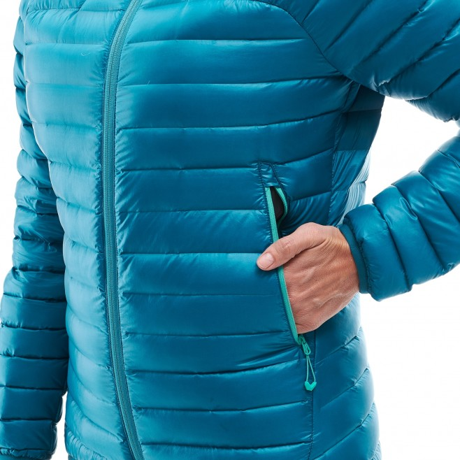 Women's down jacket - mountaineering - red LD K SYNTH'X DOWN HOODIE Millet 4
