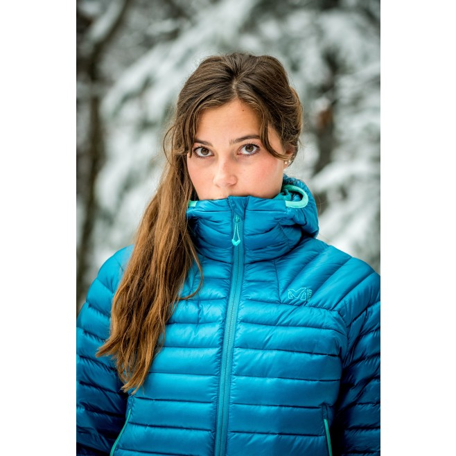 Women's down jacket - mountaineering - red LD K SYNTH'X DOWN HOODIE Millet 6