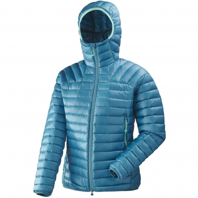 Women's down jacket - mountaineering - blue LD K SYNTH'X DOWN HOODIE Millet