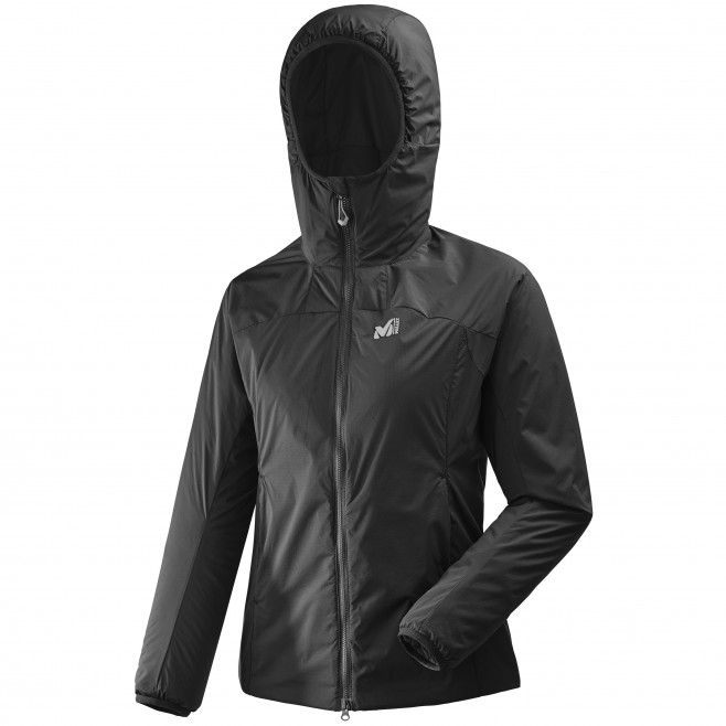 Women's warm jacket - approach - black LD K BELAY HOODIE Millet