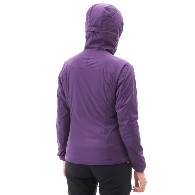 Women's warm jacket - approach - black LD K BELAY HOODIE Millet 3