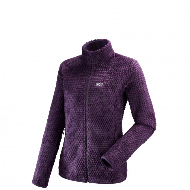 Women's very warm fleecejacket - purple GRIZZLY BUBBLE LOFT JKT W Millet