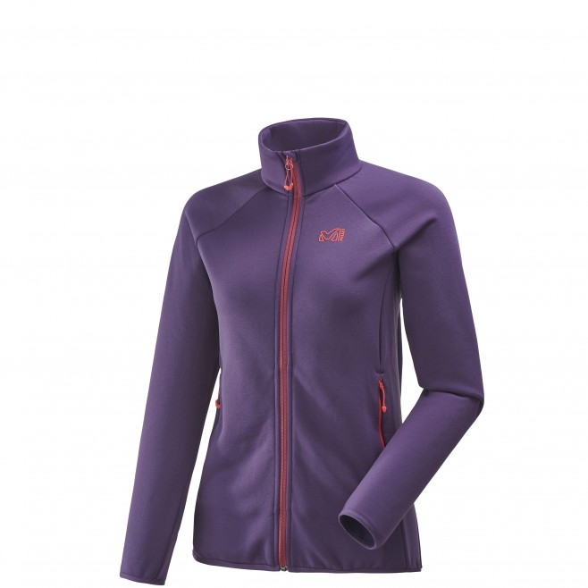 Women's fleece jacket - approach - purple LD CHARMOZ POWER JKT Millet