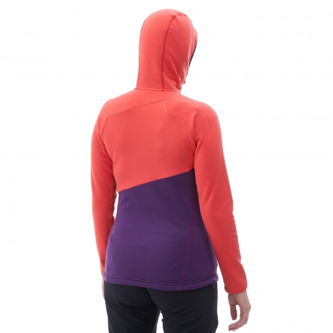 Women's very warm fleecejacket - mountaineering - black LD ELEVATION POWER HOODIE Millet 3