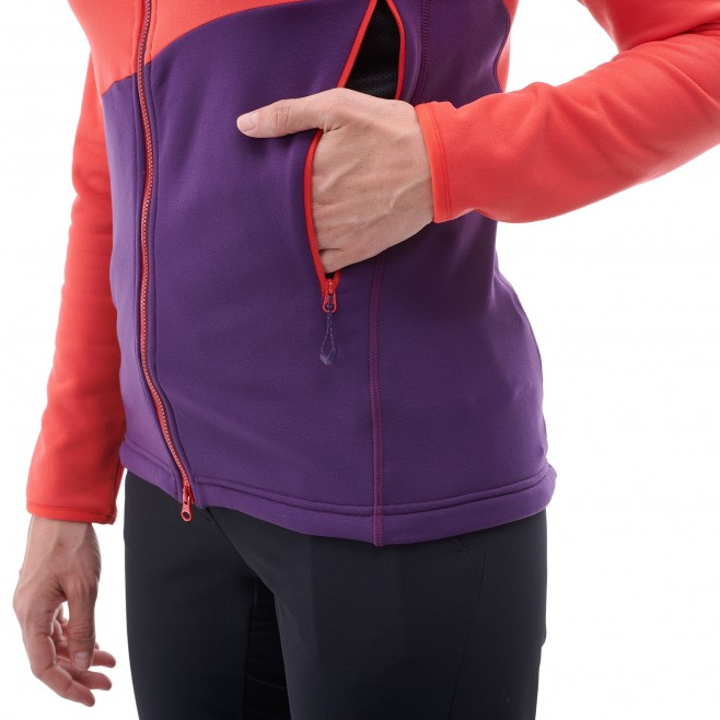 Women's very warm fleecejacket - mountaineering - black LD ELEVATION POWER HOODIE Millet 4