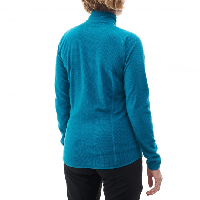 Women's fleece jacket - approach - blue LD KODA GRID JKT Millet 5