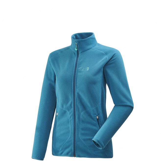 Women's fleece jacket - approach - blue LD KODA GRID JKT Millet
