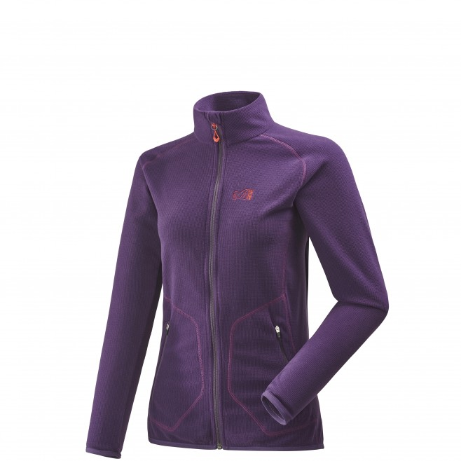 Women's fleece jacket - approach - purple LD KODA GRID JKT Millet
