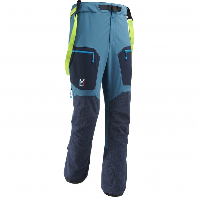 Men's wind resistant pant - mountaineering - blue TRILOGY STORM PANT Millet