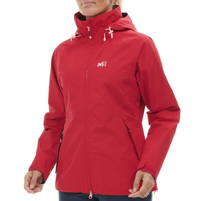 Women's Gore-Tex jacket - red GRANDS MONTETS GTX JKT W Millet 2