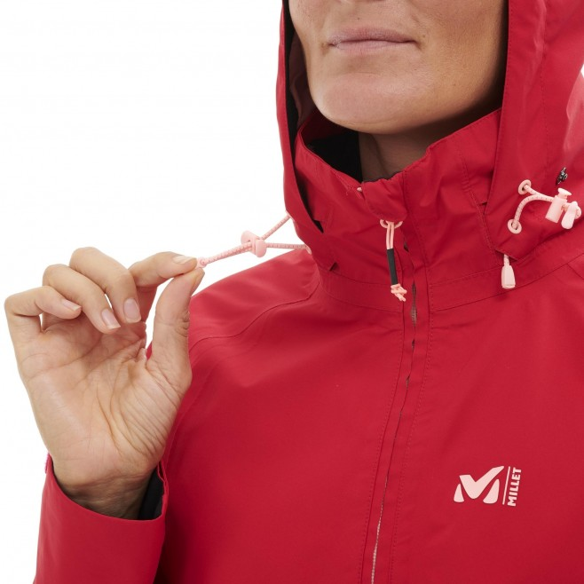 Women's Gore-Tex jacket - red GRANDS MONTETS GTX JKT W Millet 7