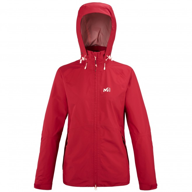 Women's Gore-Tex jacket - red GRANDS MONTETS GTX JKT W Millet