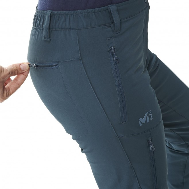 Women's pant - hiking - grey LD ALL OUTDOOR PT Millet 4
