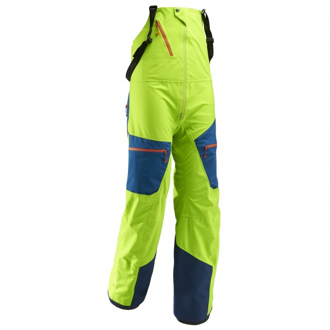 Men's waterproof pant - ski - green M WHITE NEO CARGO BIB Millet