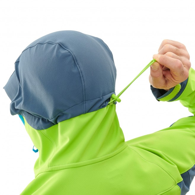 Men's softshell jacket - ski touring - green TOURING SHIELD JKT Millet 6