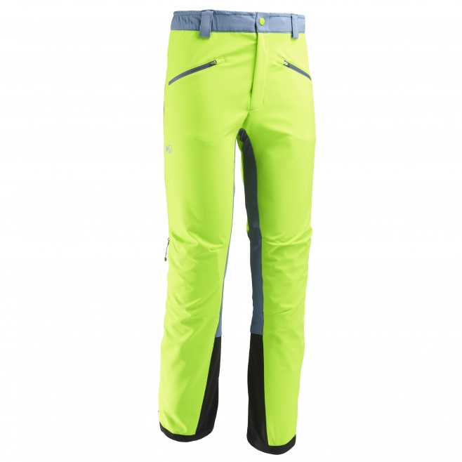 Men's softshell pant - ski touring - green TOURING SHIELD PT Millet