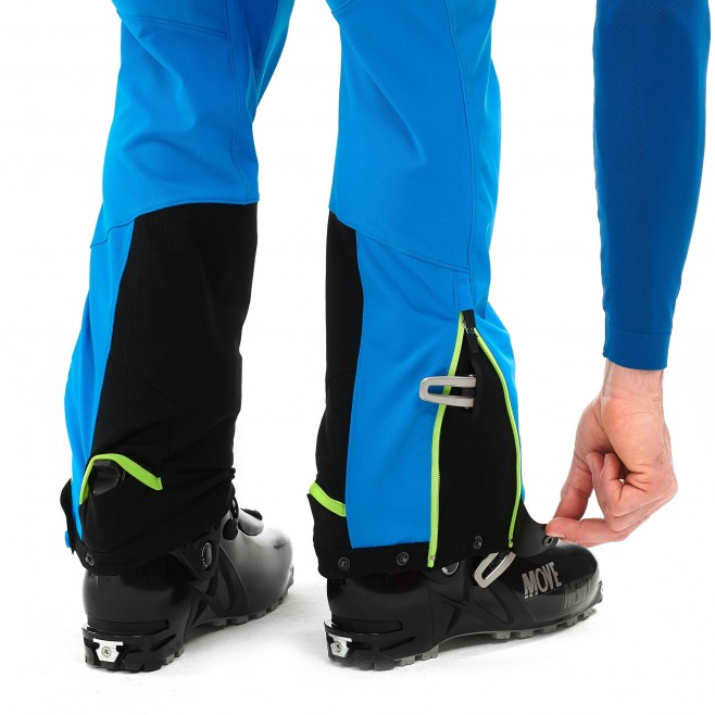 Men's softshell pant - ski touring - green TOURING SHIELD PT Millet 4