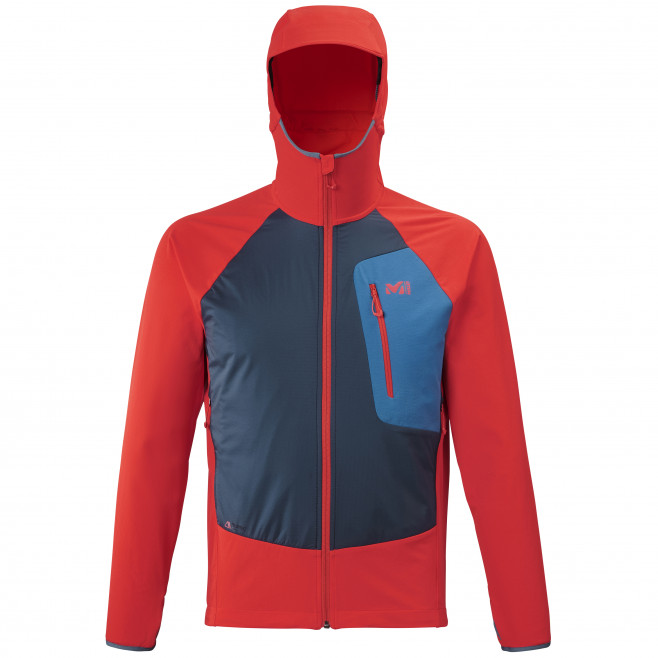 Men's lightweight jacket - red TOURING SPEED XCS HOODIE M Millet