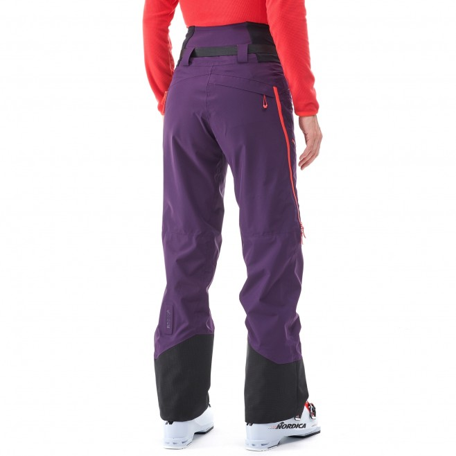 Women's waterproof pant - ski - purple LD M WHITE NEO CARGO PT Millet 3