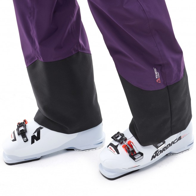 Women's waterproof pant - ski - purple LD M WHITE NEO CARGO PT Millet 5