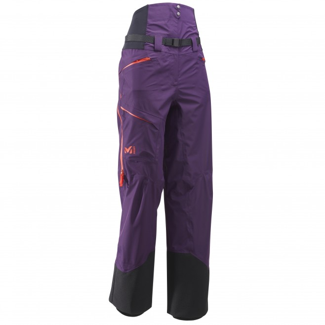 Women's waterproof pant - ski - purple LD M WHITE NEO CARGO PT Millet