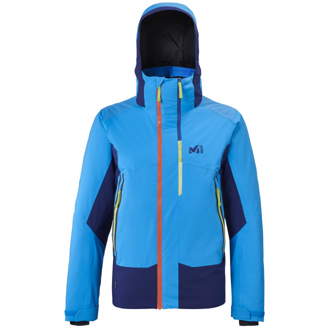 Men's waterproof jacket - blue 7/24 STRETCH JKT M Millet