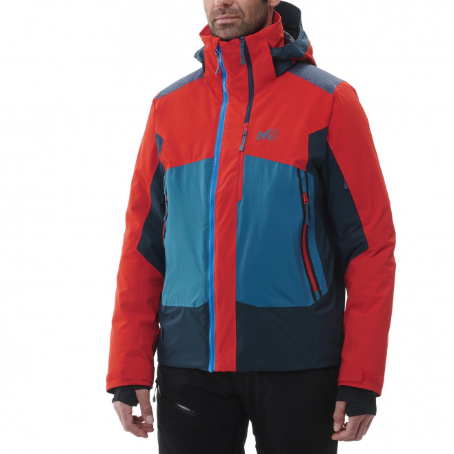 Men's waterproof jacket - red 7/24 STRETCH JKT M Millet 3
