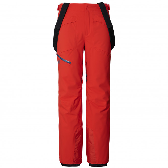 Men's water-resistant pant - red HAYES STRETCH PANT M Millet