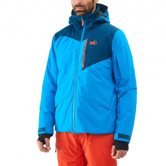 Men's jacket - ski - blue ATNA PEAK JKT Millet 6