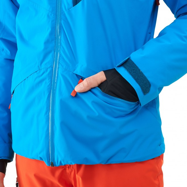 Men's jacket - ski - blue ATNA PEAK JKT Millet 2