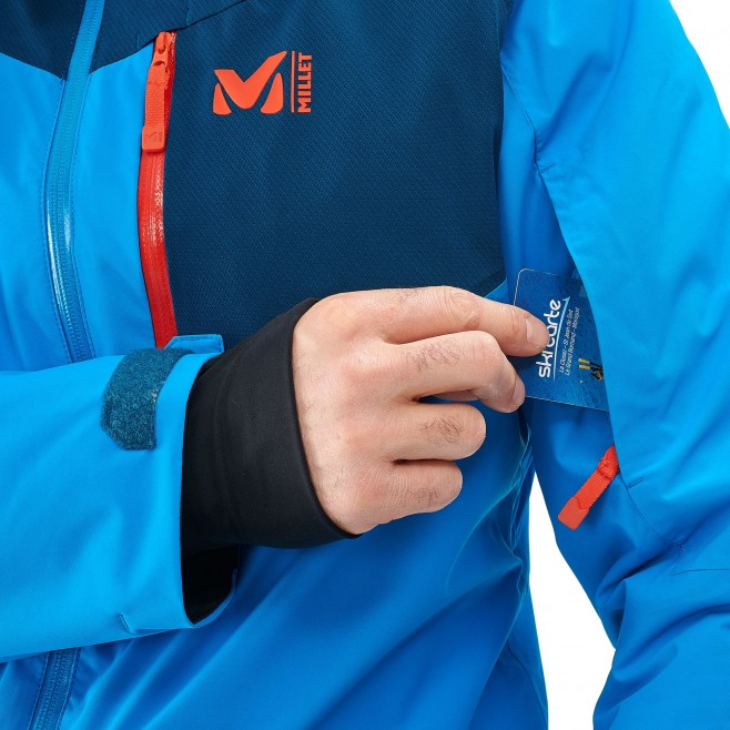 Men's jacket - ski - blue ATNA PEAK JKT Millet 4