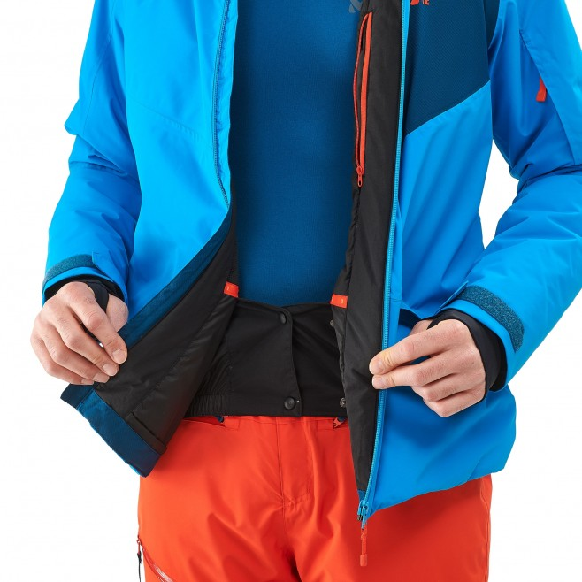 Men's jacket - ski - blue ATNA PEAK JKT Millet 3
